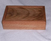 Red Oak  keep sake / Trinket Box