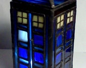 TARDIS-  for your christmas village....or whateve