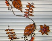 Indian - Mehndi- Inspired stained glass suncatcher