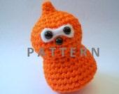 Amigurumi Pattern - Zingy EDF Energy Flame - Crochet Pattern