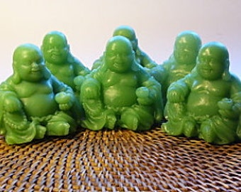 Happy Jade Buddha Glycerin Soap - Olive Oil Soap - Jade Green Soap