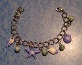 Aqua Shell Ocean Bracelet