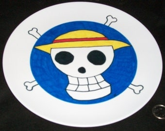 Fun to Use Mealtime Anime 10 Inch Collector Plate - Jolly Roger