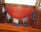 Vintage Flag Banner Wall Hanging