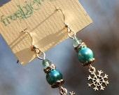 Snowflakes.... Froshjewels original earrings