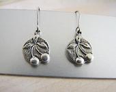 Sterling Silver Cherry Charm Dangle Earrings, Designer brand,  Cha Ching Cherry
