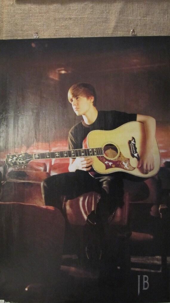 Unique Justin Bieber Magnetic Board: Large poster size