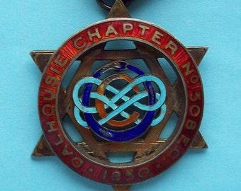 Royal Arch Singapore Sterling Silver Masonic Jewel