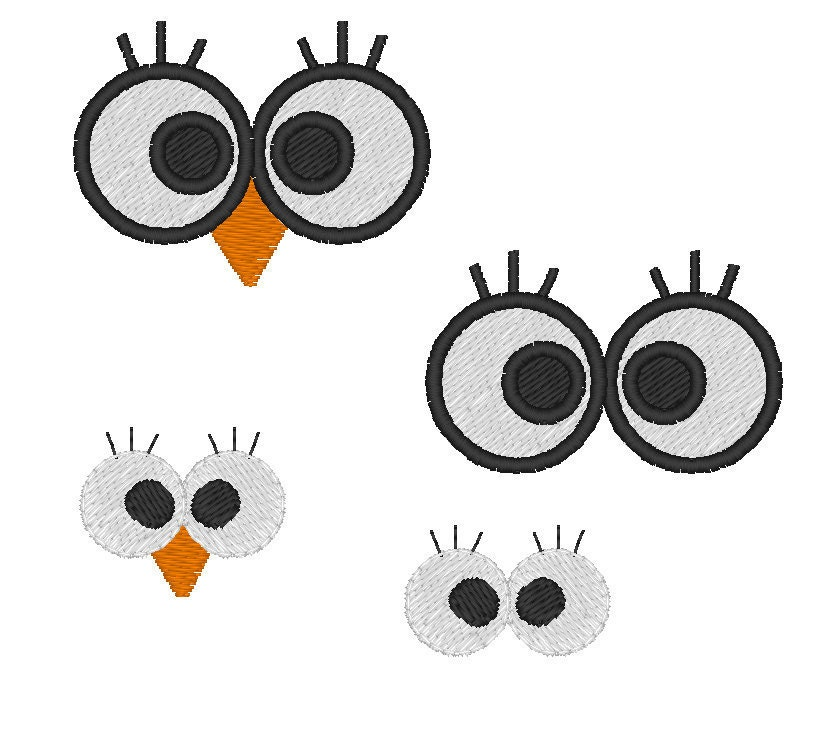 Free Machine Embroidery Designs Eyes