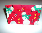 Holiday Gift Card Wallet, Business Card Wallet - the perfect gift wrap for those Holiday Gift Cards