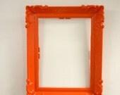 Opulent Orange Vintage Frame