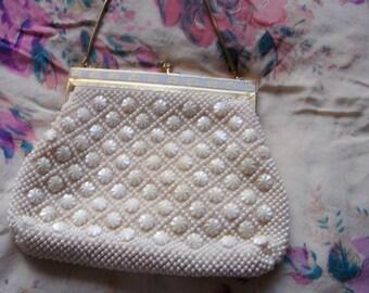 Vintage 1960's Beaded Bag