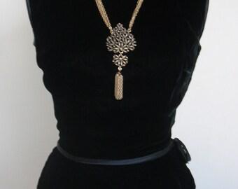 Vintage Suzy Perette Black Velvet Sheath Dress
