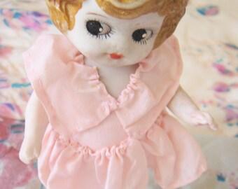 1920's Bisque Kewpie Doll-Japan