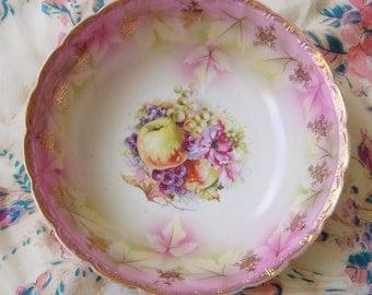 Antique Porcelain Fruit Bowl