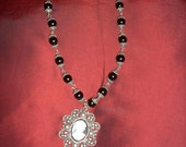 Victorian Cameo Gothic Necklace