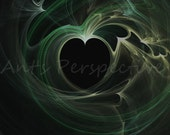 ELECTRIC LOVE 2 digital art ABSTRACT 8x10 print
