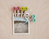 TAG SALE -  Vintage photo and Baker's Twine to hang bits of loveliness