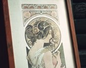 Primevere (Framed Art Nouveau Print)