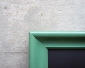 Recycled Antique Moss Green Frame Chalkboard