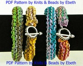 Pattern - Fiber Bling Knit Bracelet