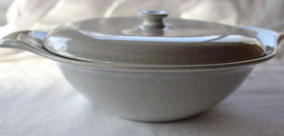 Russel Wright Covered Dish, Casserole, Vegetable Bowl