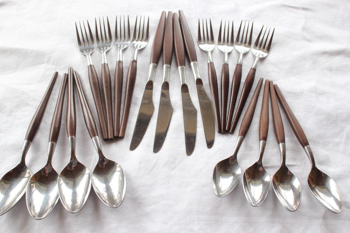 Wooden Handled Silverware Wooden Handle Flatware