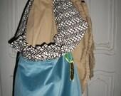 Unique Velvet Handbag