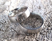 Engraved Personalized Ring... Brushed