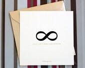 """Printable wedding invitation set - """" Apeiron"""""""