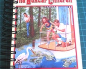 The Boxcar Children's Houseboat Mystery Book Made Into a Writing or Art Journal