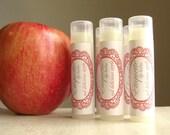 Apple lip balm Red Delicious Apple Lip Balm fall flavor sweet lip gloss