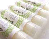Mint Truffle Lip Balm Lip gloss lip butter holiday flavor, chocolate mint