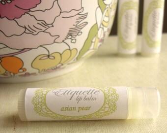 Asian Pear Lip Balm sweet fruity lip gloss
