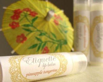 Pineapple Tangerine Lip Balm