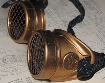 Steampunk Goggles - Monochromatic Copper
