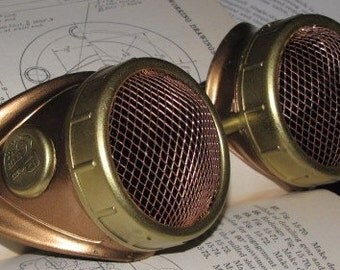 Steampunk Goggles - Bugeyed