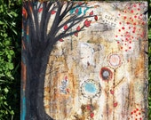 COME ALIVE 12 x 12 Print of Mixed Media Painting by Sunshine Barlowe