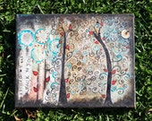 I Found My Way Back To You 11 x 14 Print of Mixed Media Painting by Sunshine Barlowe