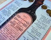 Bransons Coffee Extract Old London Ephemera Reproduction Print from Curious London