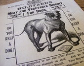 Hildyards Meat & Vegetable Dog Biscuits Antique Reproduction Print from Curious London