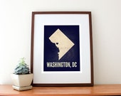 "Washington, DC Love Print, 8"" x 10"""