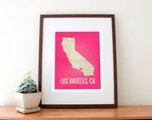 Los Angeles, CA Love Print
