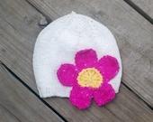 Custom Toddler Flower Hat for Allison