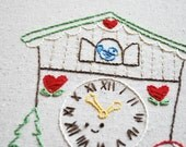 PDF Embroidery Pattern - Cuckoo