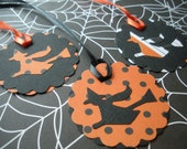 Halloween Witch Gift Tags,Set of 12 Tags, Handmade Halloween Favor Tags, Custom Halloween Treat Bag Tags, Cute Witch, Halloween Party