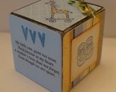 Child's Sympathy Memory Cube