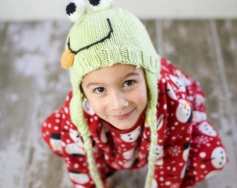 Frog Ear Flap Hat Made to Order