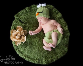Newborn Lily Pad Photography Prop