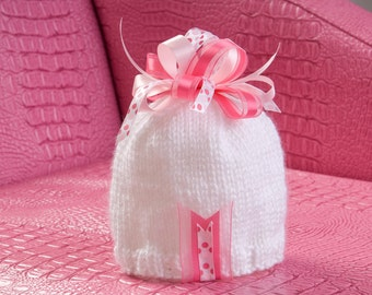 Ribbons and Bows Hat - You Choose Colors